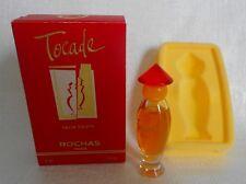 Miniature de parfum Tocade de Rochas (bouchon rouge) EDT 3ml plein avec boite