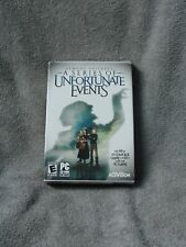 PC Game lemony Snickets Series Of Unfortunate Events, with movie tickets. CD
