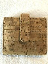 Portuguese Natural Cork Wallet-Reduced Price!
