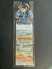 Heartbeat BOOKMARK TV Series Diecut Shaped Teddy Policeman Yorkshire Television