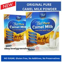 Original Camel Milk Powder HALAL NO SUGAR high calcium 25 gram x 20 SACHETS