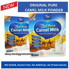 Original Camel Milk Powder HALAL NO SUGAR high calcium 25 gram x 160 SACHETS -8B