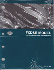 2007 Harley FXDSE CVO Dyna Part Parts Part's Catalog Manual Book 99430-07