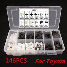 146x Fender Door Hood Bumper Trim Clip Car Body Retainer Assortment For Toyota