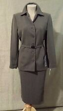 Amanda Smith Skirt Suit Gray Size 10