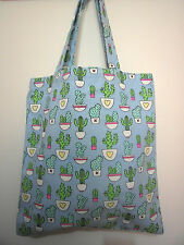 Cotton Canvas Tote Shopping Handbag Shoulder Cute Bag Women Girls Purse-Plant