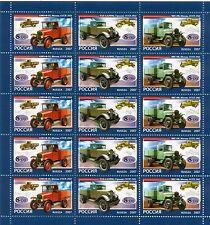 Russie - Russia 2007 - Y. & T. n. 7016/18 - L'histoire de camion - feuillet