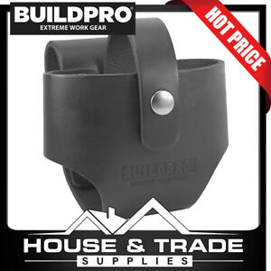 BuildPro Tape Measure  Pouch Leather LARGE  Frog Tool Holder LBFTXL