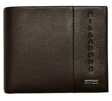 """BRAND NEW IN GIFT BOX BILLABONG """"EMPIRE"""" MENS BROWN LEATHER TRI-FOLD WALLET BNWT"""