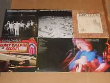 HARRY CHAPIN lot 6x LP legends GREATEST STORIES LIVE cats in the cradle taxi