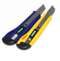 Plastic Cutter Utility Knife Snap Off Retractable Razor Knife Blade Tool New