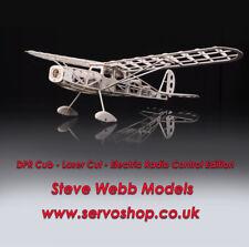 DPR Balsa Built Laser Cut Model Aircraft - Hyper Cub FF & RC,Cessna 180 & Racer