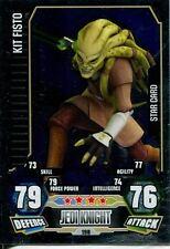 Star Wars Force Attax Series 3 Card #198 Kit Fisto
