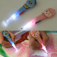 LED LIGHT STICKY PEN FOR DIY 5D DIAMOND EMBROIDERY PAINTING CROSS STITCH //bw