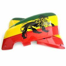 #01 Bonnets Lambretta Paire Gauche / Droite Airbrush Lions Jamaica Li 3 Lis SX