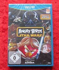 Angry Birds Star Wars, Nintendo WiiU juego, nuevo embalaje original, versión en alemán