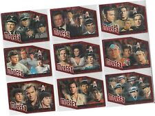 "Star Trek 35th Anniversary HoloFEX - 9 Card ""MorFEX"" Chase Set M1-9"