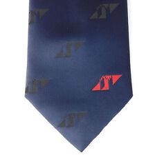 ATV Company Cravatta Logo Navy Blue Tie Rack Corporate Abbigliamento ITV
