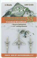 Rocky Mountain Warhead SS Crossbow 100 Grain Broadhead 3 Pack RM56006
