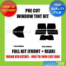 VOLVO V70 ESTATE 1997-1999 (1ST GEN) FULL PRE CUT WINDOW TINT KIT
