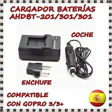 301 AHDBT Bateria dual CARGADOR PARA GoPro Hero 3 Hero 3+91000AHDBT 302