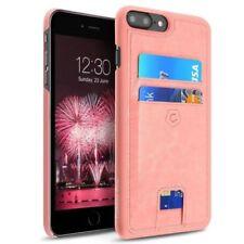 Fundas y carcasas Para iPhone 7 Plus color principal rosa de piel para teléfonos móviles y PDAs