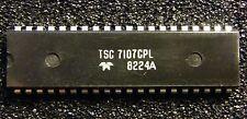Tsc7107cpl a/d transductores para 3 1/2 dígitos LED mostrar, teledyne