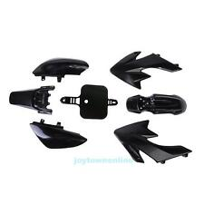 Black Plastics Fairing For Honda CRF XR 50 CRF 125cc SSR PRO Pit Dirt Bike