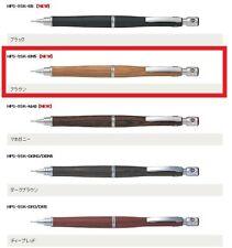 "【 Pilot  】"" S20 "" ( Brown , 0.5mm ) Mechanical Pencil  JAPAN Wood grain Cool"