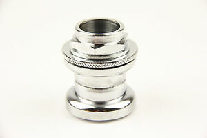 """Bicycle Headset 25.4 x 30 x 27mm Threaded 1"""" Fork Fixie Silver"""