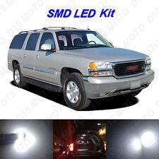 16 x White LED interior Bulbs + Reverse + Tag Lights For 2000-2006 GMC Yukon XL