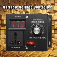 Ac 220V 4000W Variable Régulateur de Tension Moteur Vitesse Contrôleur