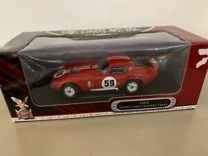 1:18 Road Signature Shelby Cobra Daytona Coupe 1965 Red #59