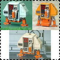 3x Silent Running Robot Drone DEWEY HUEY LOUIE DIY Handcraft 3D Paper Model Kit