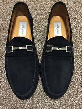 Extremely Rare Mezlan Morella Suede Loafer Men's Dress Shoes sz 9M
