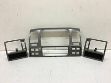 VW TRANSPORTER / CARAVELLE T5 DASHBOARD AIR VENT RADIO SURROUND TRIMS 7E0857237