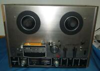 Akai 4000DS Reel to Reel Three Head Player - Works, As Is, Read Details