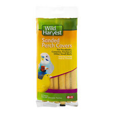 Wild Harvest Sanded Perch Covers for Parakeets Canaries Finches & Small Birds