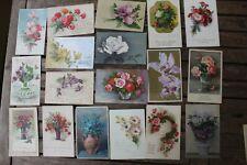 31960 Sammlung Sammlung 50 AK Blumen Rosen 1900-1945 old  PC flowers