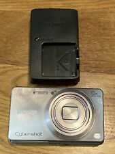 Sony Cyber-Shot DSC-W690 16.1MP Digital Camera - Silver With Charger