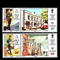 "Isle of Man 1990 - EUROPA stamps ""Postal Service"" - Sc 419a,421a MNH"