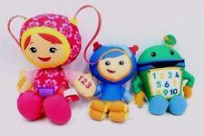 "Team Umizoomi milli Bot and Geo 9"" plush toy Gift 3pcs"