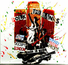 Various - Folk The Banks : A Benefit For The Occupy Movement 2012 Cardsleeve CD