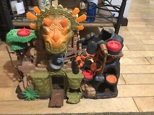 Inaginext Dino Temple T-rex Dinosaur Temple Playsey Mattel Well Built