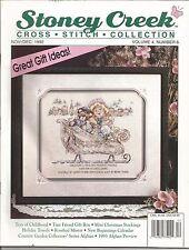 Stoney Creek Magazine - Cross Stitch Patterns - Nov/Dec 1992 - Vol. 4, No. 6