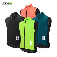 Windproof Cycling Vest MTB Road Bike Breathable Quick Dry Gilet Jersey Mens Gift