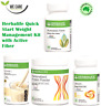 HERBALIFE Quick Start Weight Management Kit with Active Fiber (Deliver by FedEx)