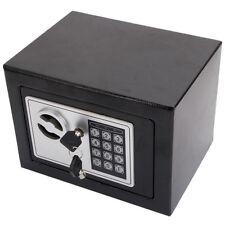 Electronic Wall Safe Home Security Stash Jewelry Gun Cash Black free shipping!!