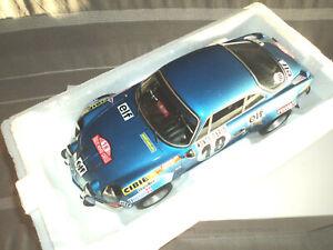 ALPINE A110 1800 Ottomodels Ottomobile Otto 1/12  #18 Monte Carlo 1973 G046
