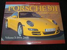 PORSCHE 911 993 ,996 ,997 ,GT3 vol.3 1994-2005 MIGUEL algodón 2005 1ª Ed NUEVO